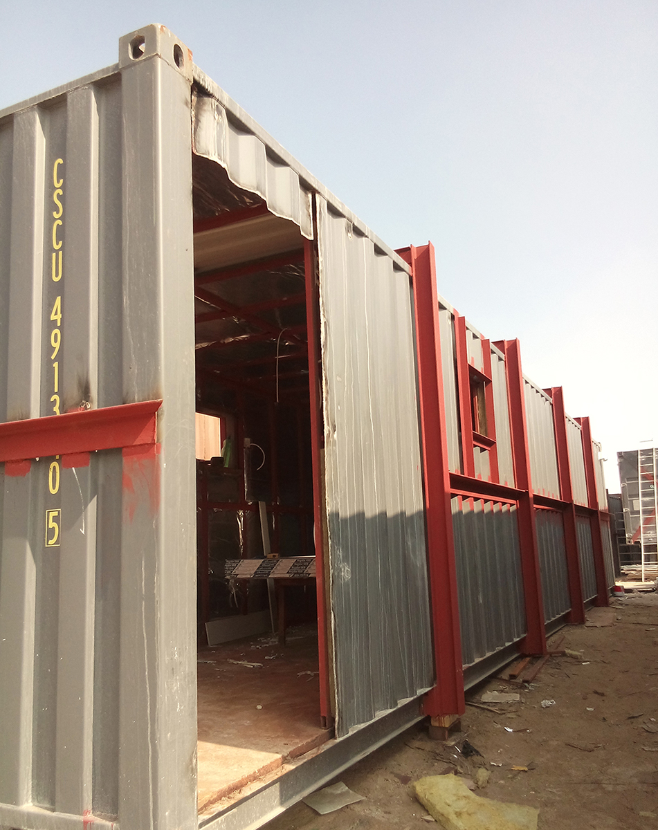 Blast Proof Shipping Container – QCHEM – ASIA ENGINEERING AND